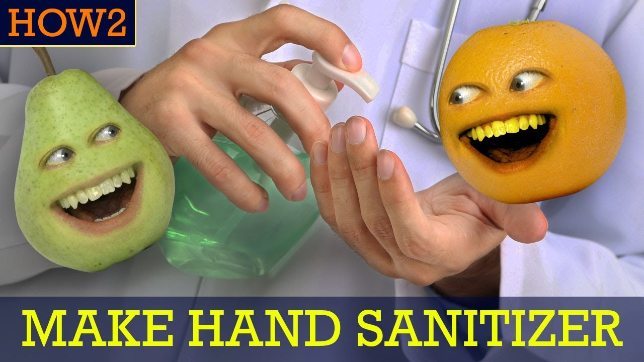 HOW2: How to Make Hand Sanitizer!