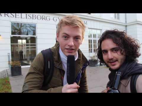 Reportage fra Marselisborg Gymnasium