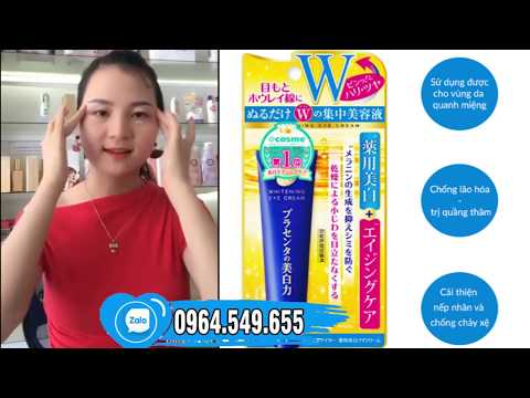 Kem dưỡng mắt Meishoku Nhật Bản | Cách trị thâm quầng nếp nhăn bọng mắt hiệu quả