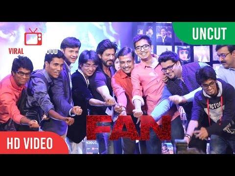 UNCUT -  FAN Official Trailer Launch | Shah Rukh Khan | YRF