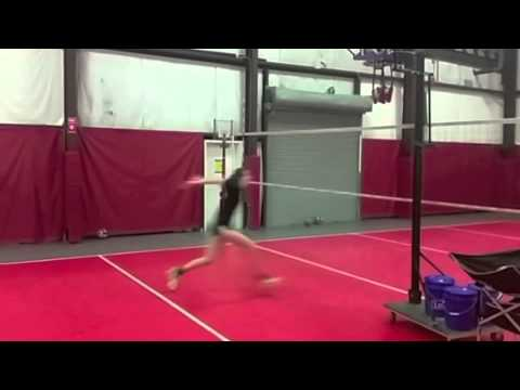 Jordan Fry Volleyball Swing