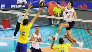Brazil vs. USA | Craziest Comeback in Volleyball History | HD