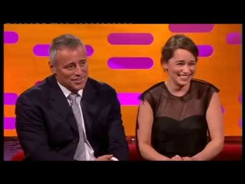 Emilia Clarke Joey Tribbiani'nin Meşhur Repliğini Söyletiyor Graham Norton  Show (Altyazılı)