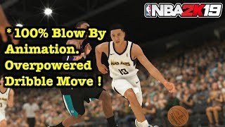 NBA 2K19 OVERPOWERED Dribble Moves Speed Boost Tutorial Ultimate Dribbling Animations #4