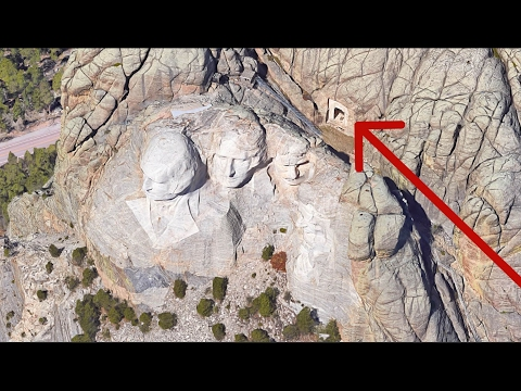 The secret room behind Mount Rushmore