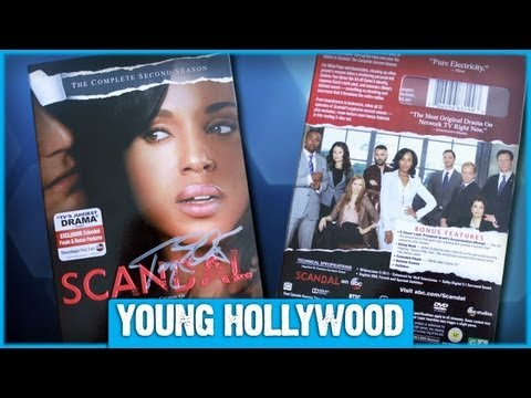 Win a SCANDAL: SEASON 2 DVD Set Signed by Tony Goldwyn!