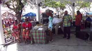 "St. Thomas Carnival ""We Deh Yah"" Quadrille Dancers April 24, 2013"