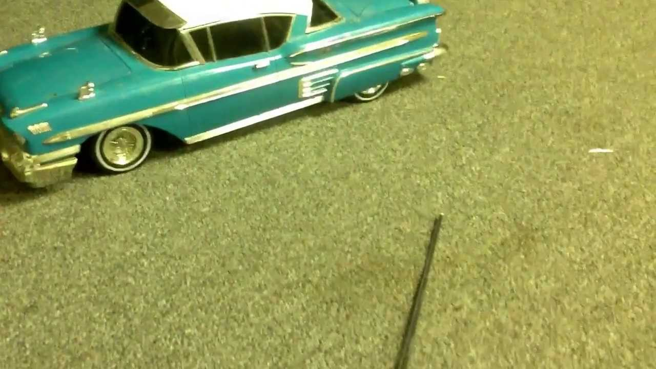 Rare and extremely hard to find old remote control muscle car - YouTube