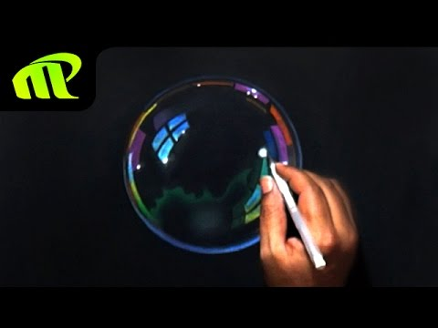 Soap Bubble Drawing – Time Lapse | Hyper Realistic | Trick Art