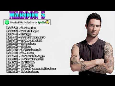 The Best Songs Of Maroon5 Maroon5 Greatest Hits