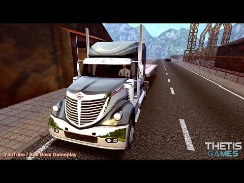 TRUCK SIMULATOR EUROPE 2 HD - iOS / Android Gameplay HD