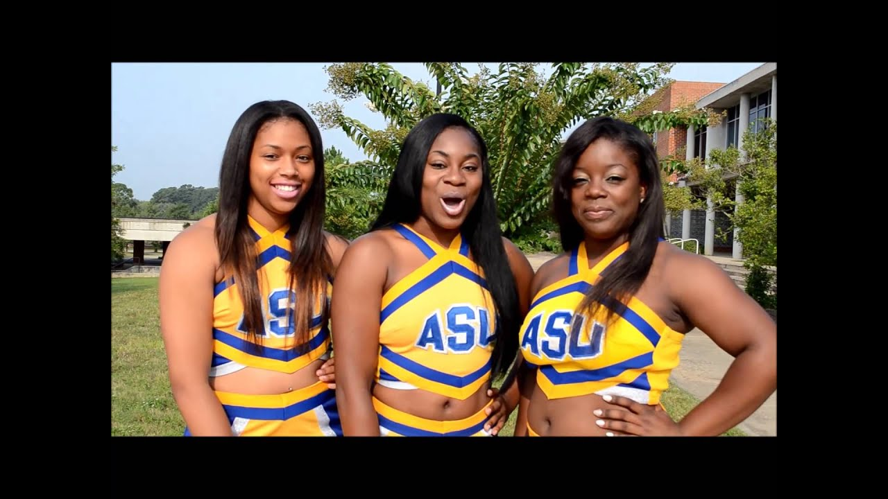 ASU 2013 Golden Rams Cheerleaders Photoshoot   YouTube Part 38