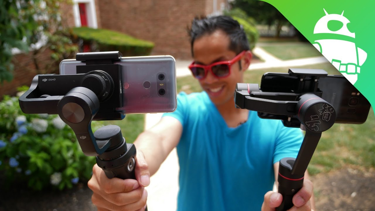 Are smartphone gimbal stabilizers better than OIS?
