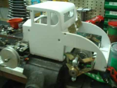 hot rod home made rc 1 5 the build youtube. Black Bedroom Furniture Sets. Home Design Ideas