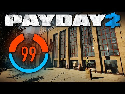 99 Detection Risk Solo Stealth (Payday 2, First World Bank, One Down, Mod)