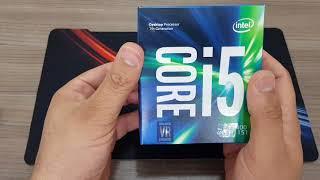 Unboxing processador I5 7400 7a Geraço Intel LGA1151
