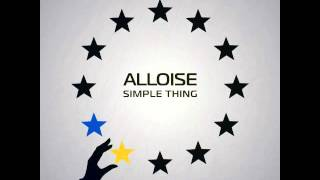 ALLOISE - Simple thing [Official single]