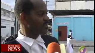 Limited State of Emergency TVJ Evening News Pt2 May 24, 2010 Jamaica flv
