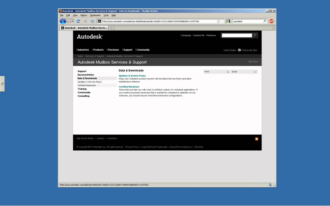Maya and Mudbox Service Pack 1 Install