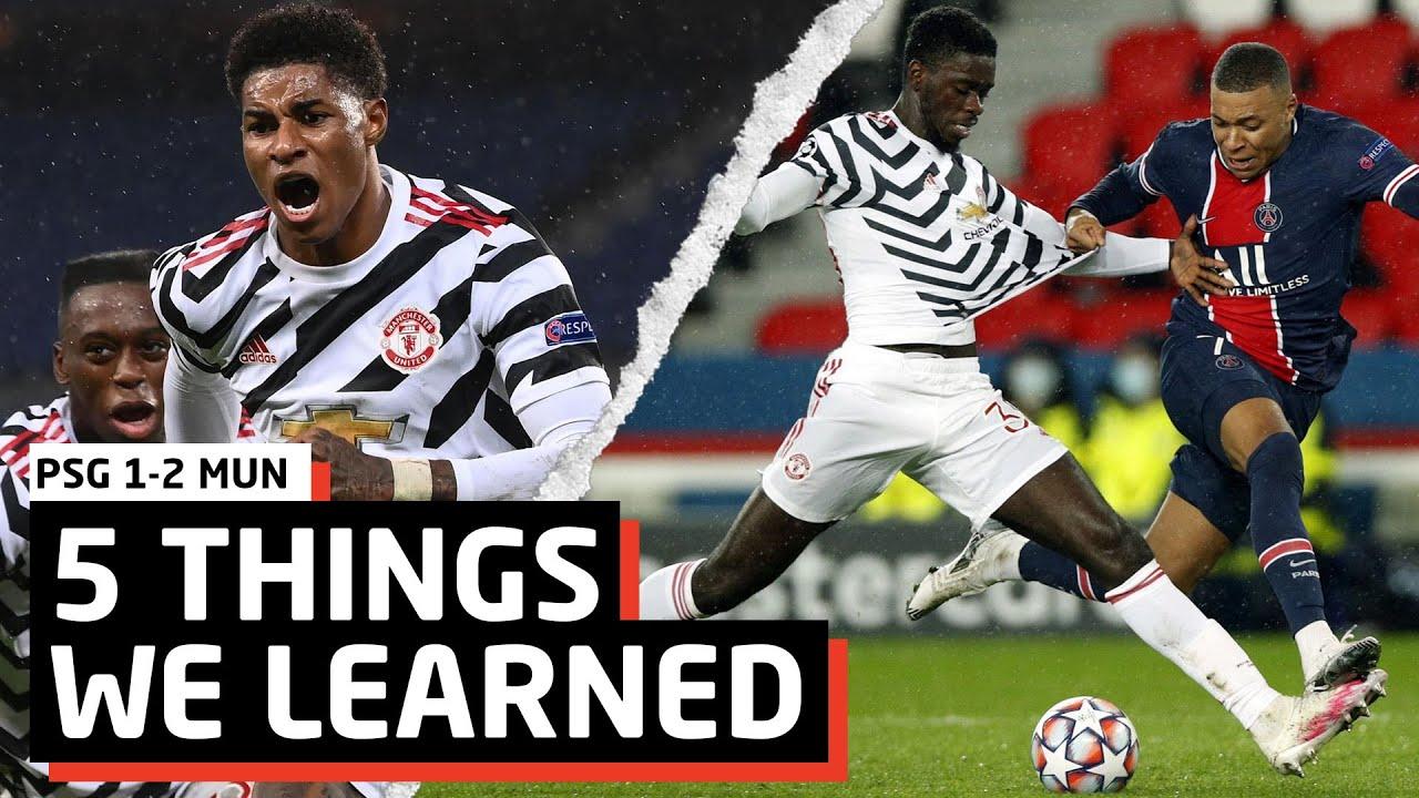 Return Of The Ax! | 5 Things We Learned vs PSG | PSG 1-2 MUN