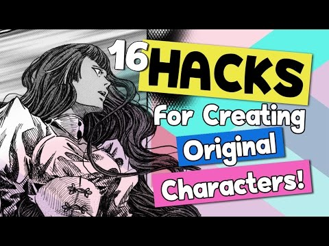 ❤ Novels, Manga, & Comics ❤ 16 HACKS for Creating Original Characters  ❤ ARTIST LIFE HACKS