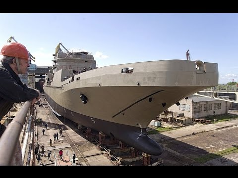 Sea trials of Russia's large amphibious assault ship to start in June