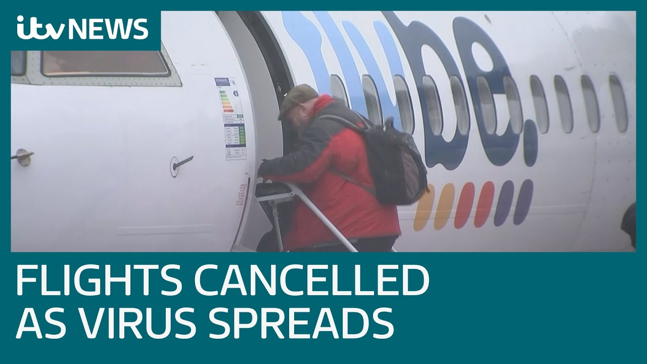 Image result for air travel coronavirus canceled