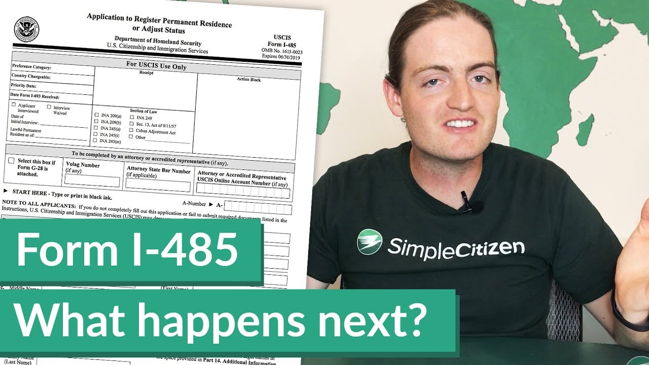 Form I-485 Processing Time: What happens next?