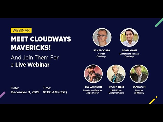 [Webinar] Build Great UX & UI, Skyrocket Your Website's Speed, and Create Content That Converts