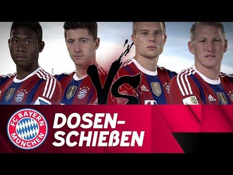 Alaba/Lewy vs. Schweinsteiger/Badstuber
