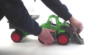 Видео обзор двух игрушечных самосвалов