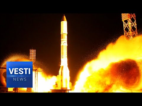 Russian Rocket Puts American Satellite Into Orbit