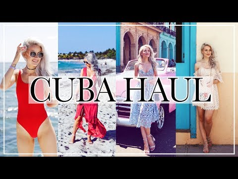 REVOLVE HAUL AND WHAT I WORE IN CUBA