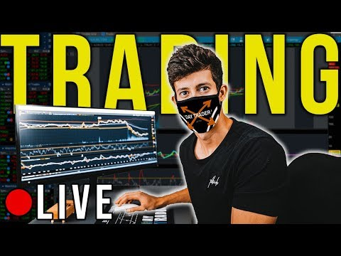 LIVE TRADING WITH RICKY GUTIERREZ | STOCK MARKET 101