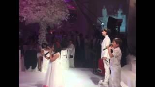 Стебка Свобода - Свадьба Бородиной. Дети поют.