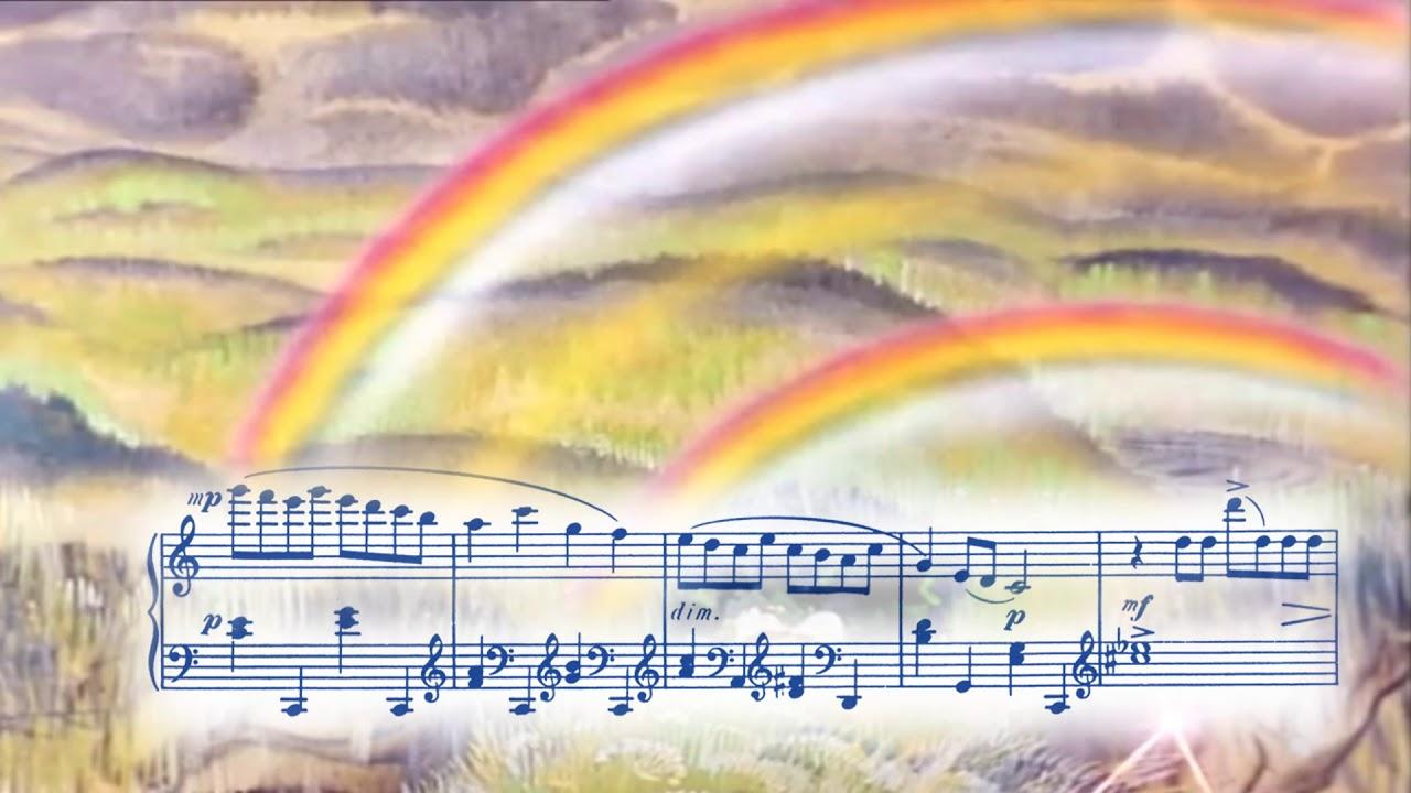 """С.Прокофьев """"Дождь и радуга"""" (сюита """"Летний день ..."""