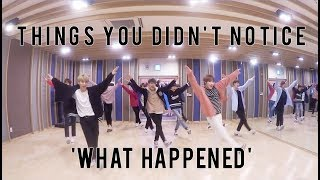 {ON CRACK} GOLDEN CHILD Things You Didn't Notice in 'What Happened' Dance Practice