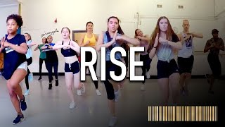 RISE by Jonas Blue ft Jack & Jack | Beginner Commercial Dance CHOREOGRAPHY
