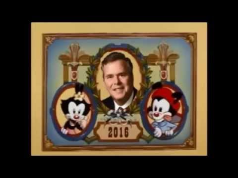 Animaniacs Presidents Song - UPDATED 2015