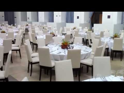 Catering in Hamburg, 175th anniversary Gala dinner - table setup