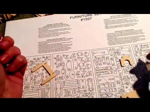 3D Puzzle - Furniture Part 2
