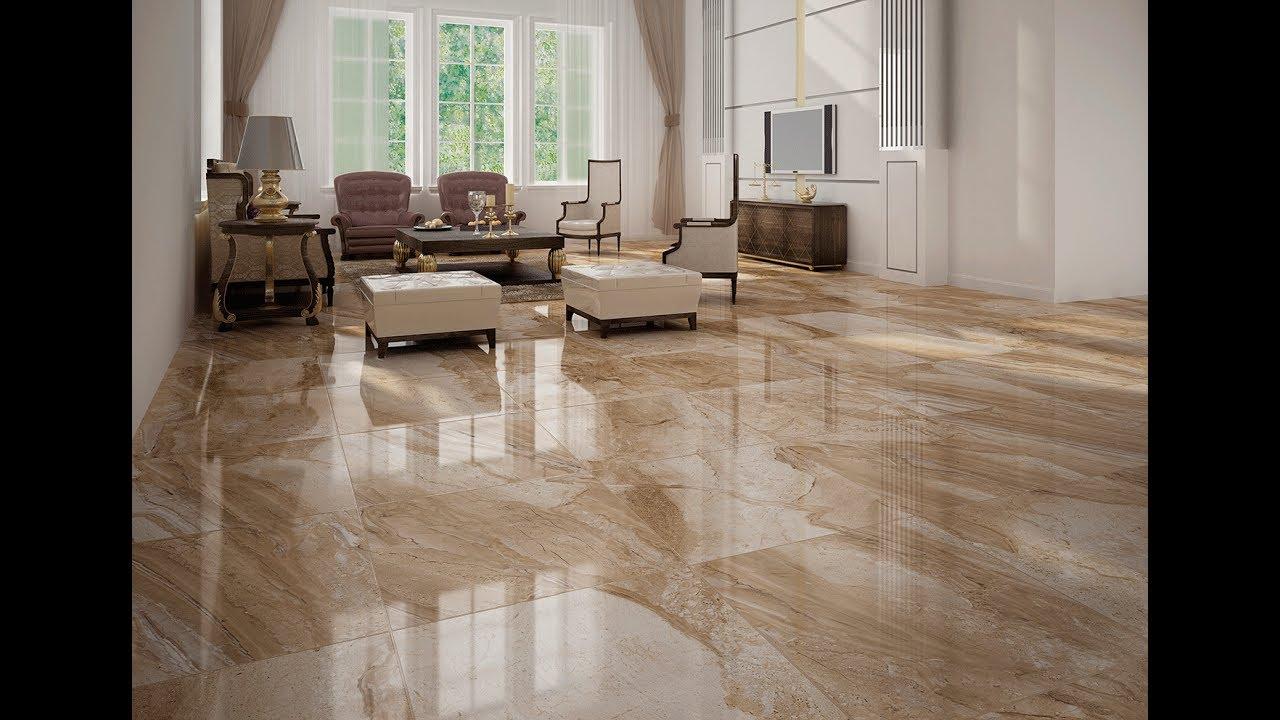 marble floor tile for living room designs - youtube