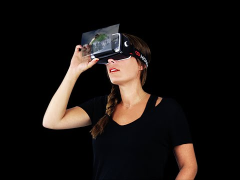 Homido Virtual Reality Headset Android Demos.