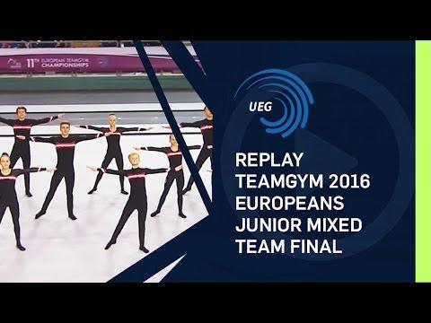REPLAY - TeamGym 2016 Europeans - Junior mixed team final (14 Oct 2016)