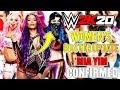 WWE 2K20: UPDATE ON WOMEN'S SUPERSTARS & NEW NXT ROSTER MEMBER