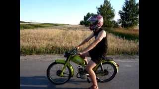Rekord prędkości - Komar 60 km/h GPS