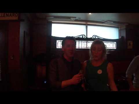 Sarah duets with Mickey Joe Harte