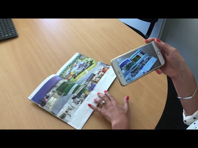 Harcourts Blue Book Augmented Reality