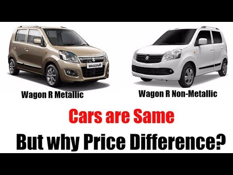 Why Price difference in Maruti Suzuki car for same model || Wagon R and Alto K10