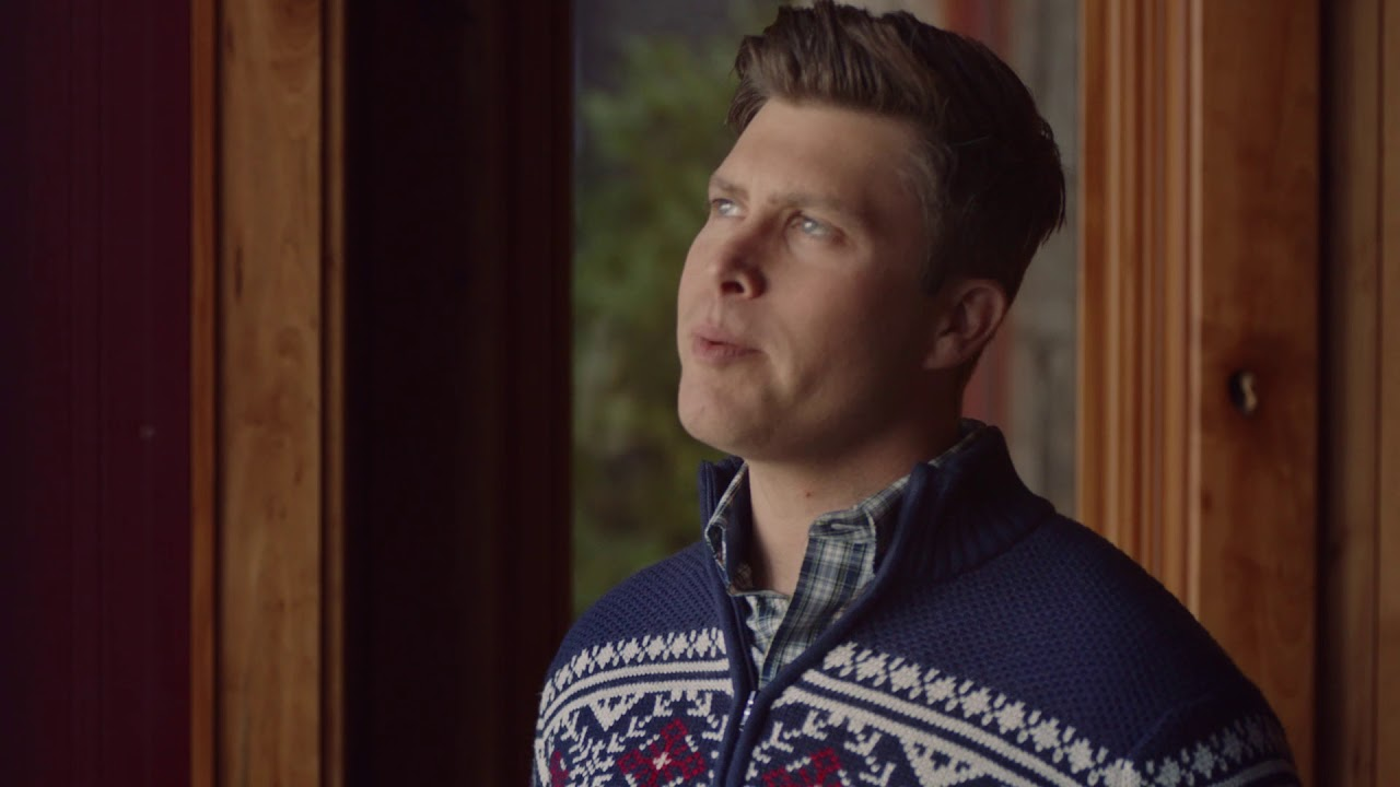 Izod Holiday 2018 Colin Jost Asks Izod Sweater Too Many Questions Youtube